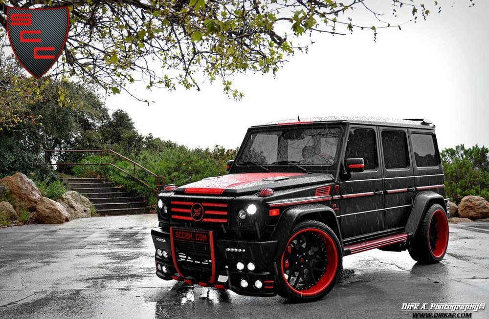 2009 mercedes benz g 55 amg hamann typhoon by specialty. Black Bedroom Furniture Sets. Home Design Ideas