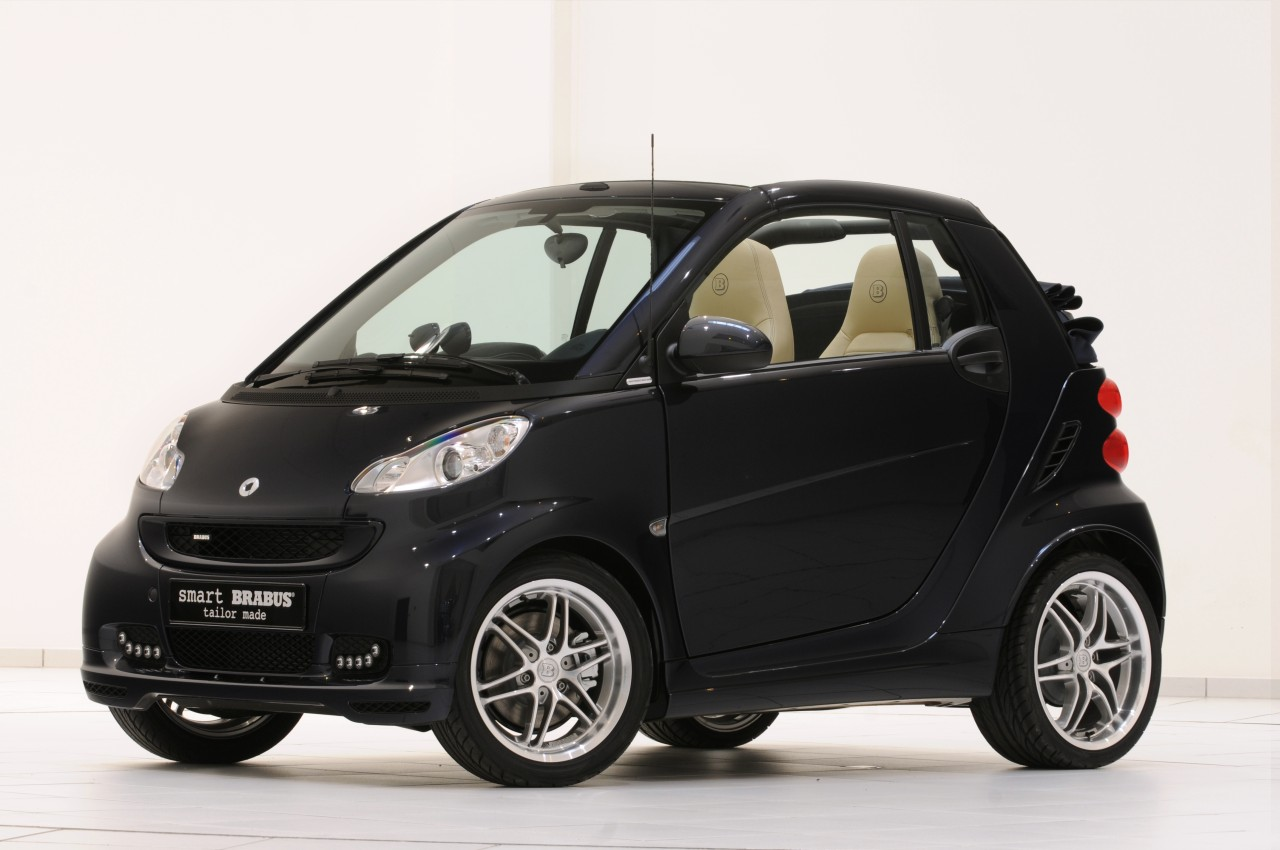 2011 smart fortwo cabrio brabus la bleue top speed. Black Bedroom Furniture Sets. Home Design Ideas