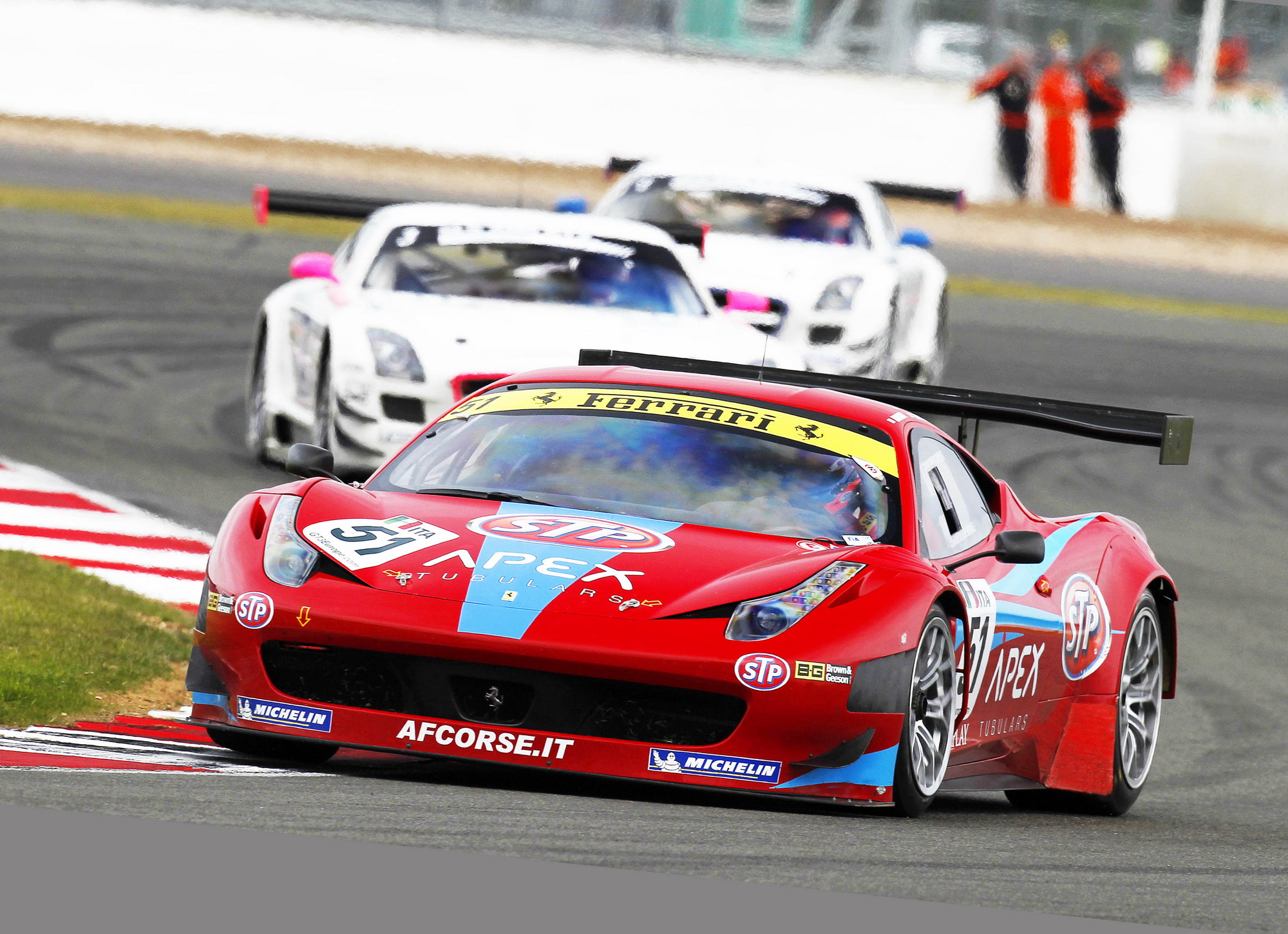 2011 ferrari f458 gt3 by stp review gallery top speed. Black Bedroom Furniture Sets. Home Design Ideas