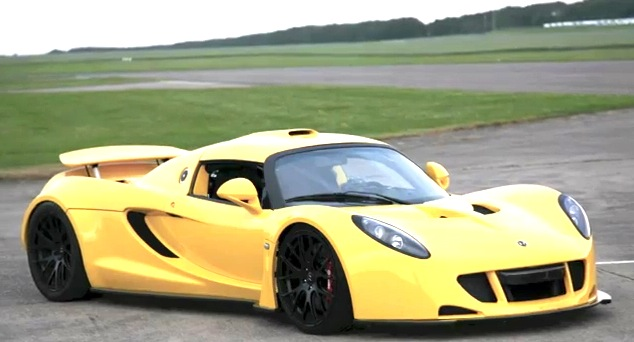 Hennessey Venom GT Readying For Goodwood Festival Of Speed