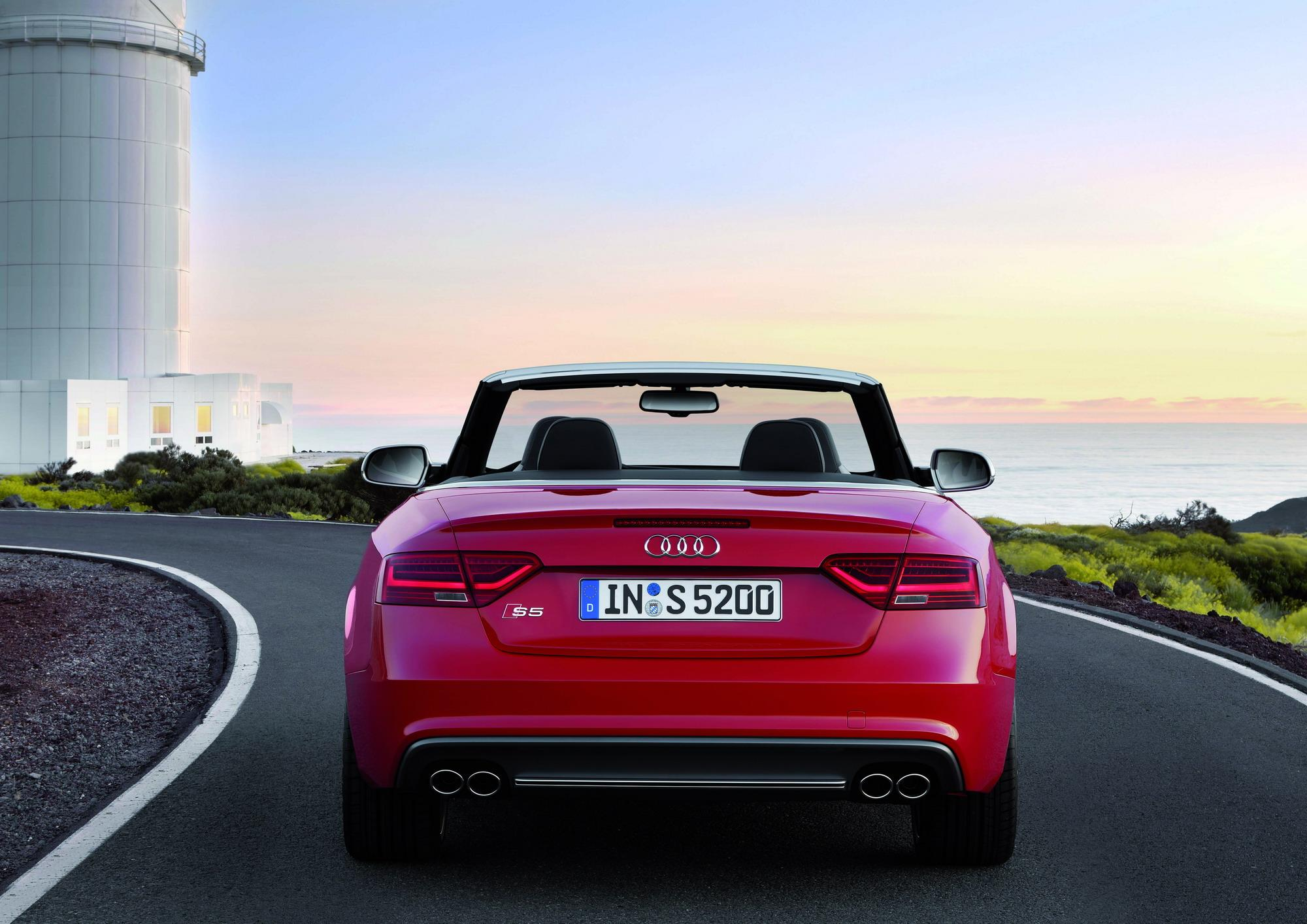 2012 Audi S5 Convertible Top Speed