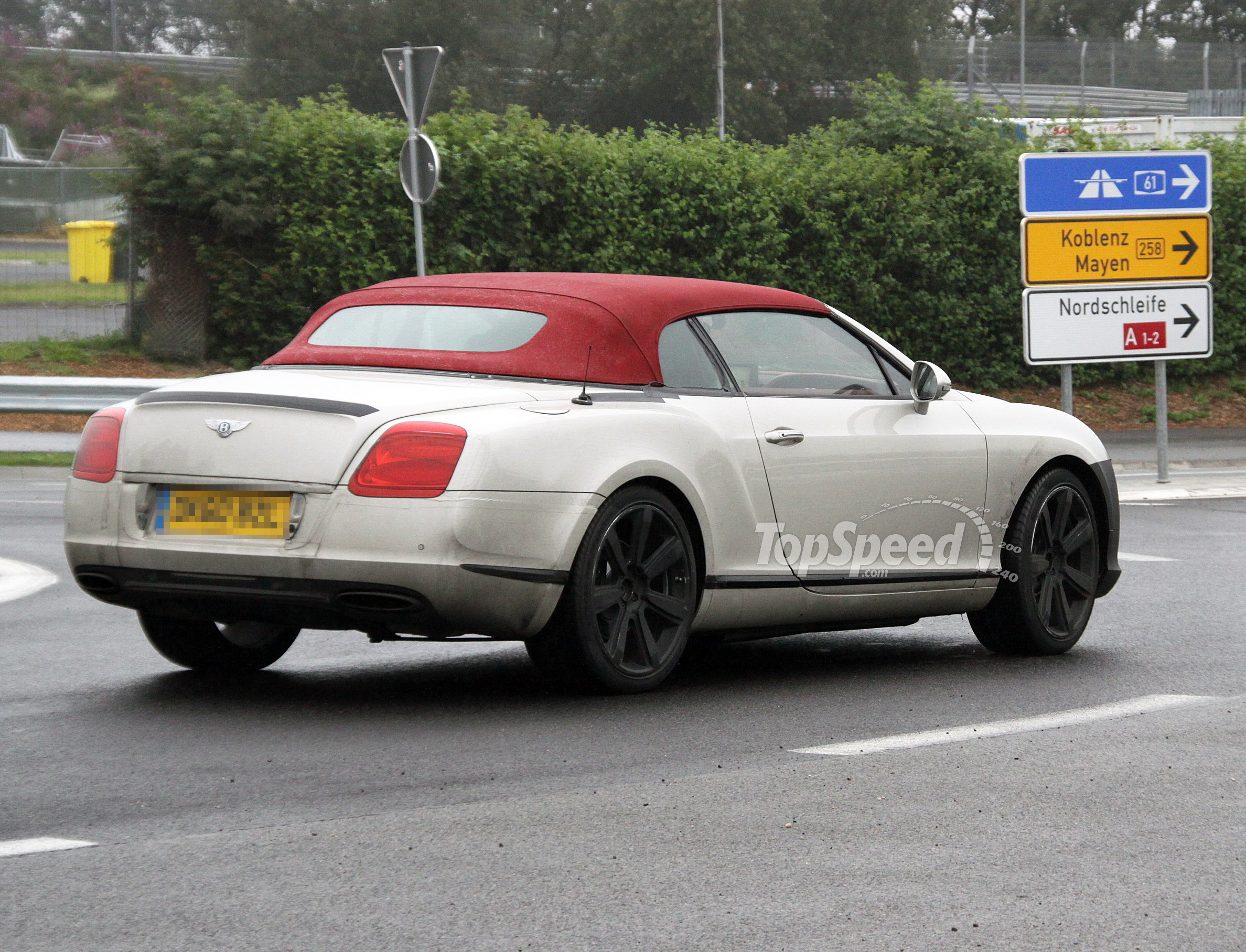 2012 Bentley Continental GTC Review - Top Speed