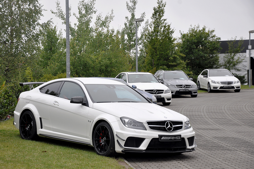 2013 Mercedes C63 Amg Black Series With Track Aero Package