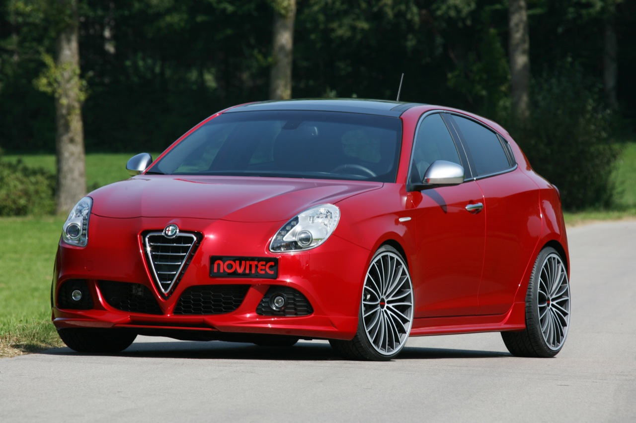 2011 alfa romeo giulietta by novitec top speed. Black Bedroom Furniture Sets. Home Design Ideas