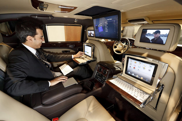 The Car Company >> 2011 Bentley Mulsanne Executive Interior Concept | Top Speed