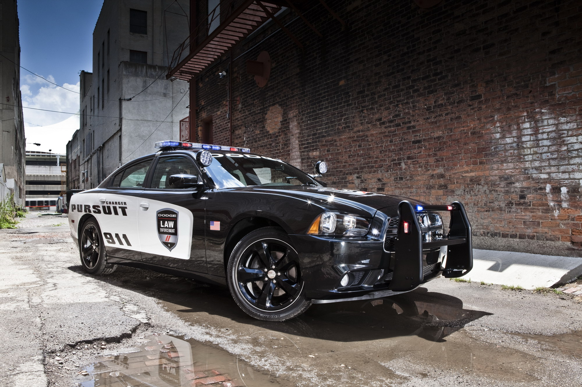2012 dodge charger pursuit top speed