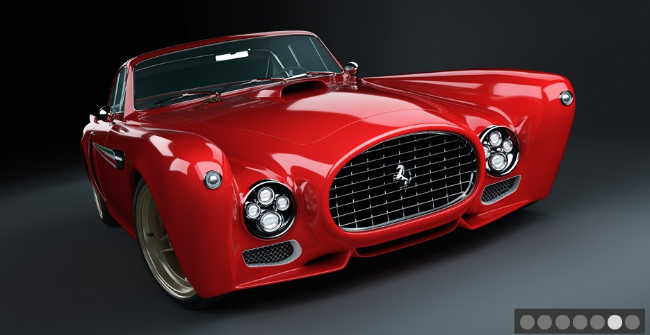 Types Of Car Models >> 2011 Ferrari 340 Mexico Berlinetta By GWA-Tuning Review - Top Speed