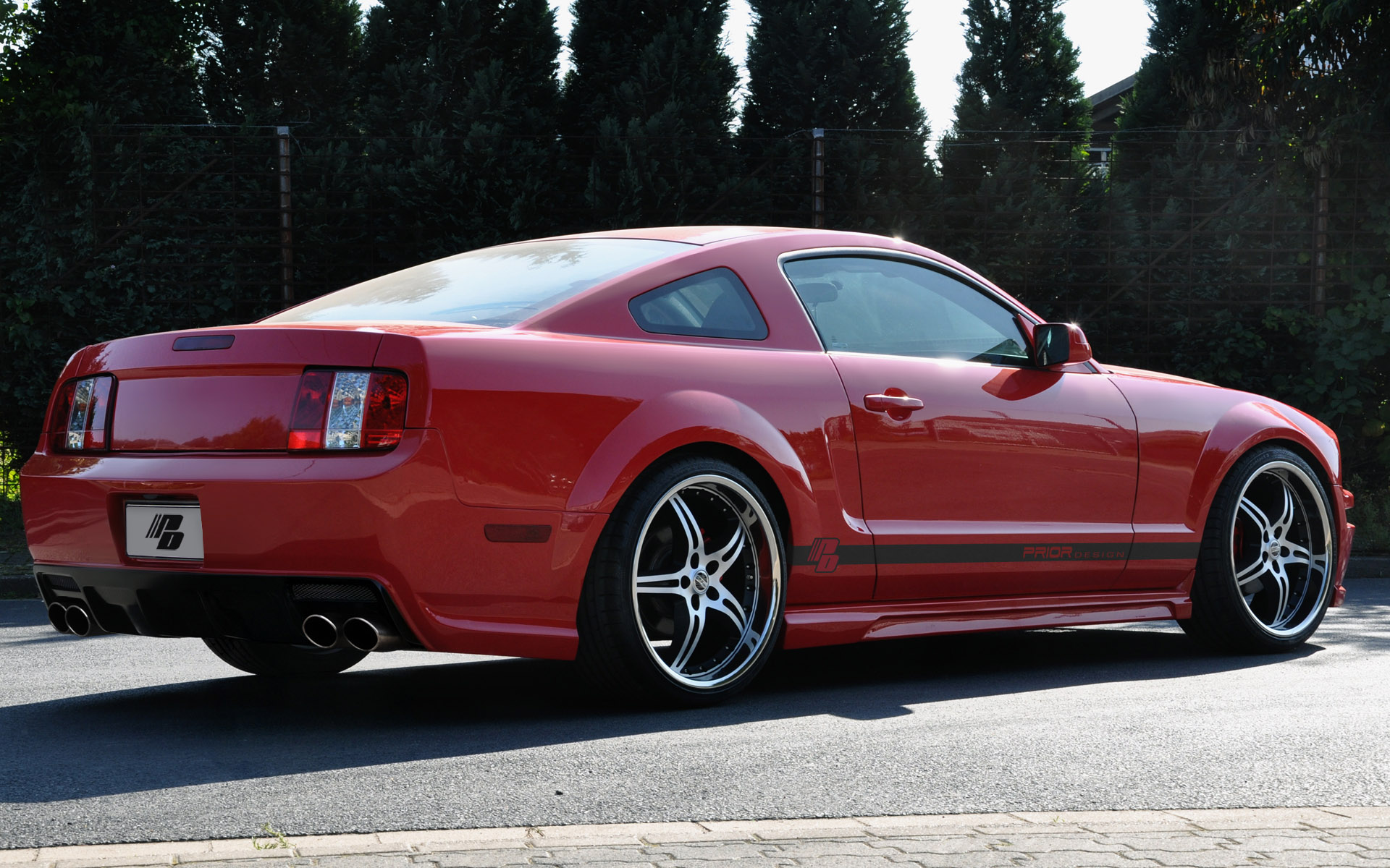 Car Body Kits >> 2005 - 2009 Ford Mustang By Prior Design Review - Top Speed