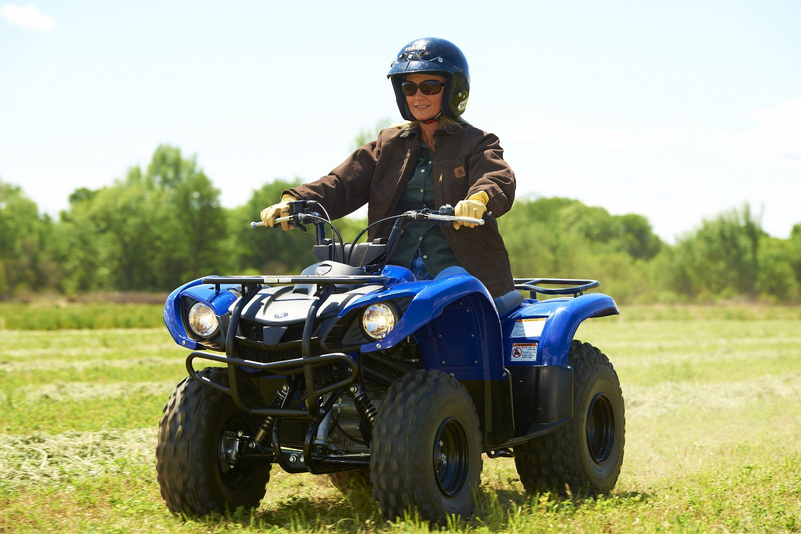2012 Yamaha Grizzly 125 Automatic | Top Speed