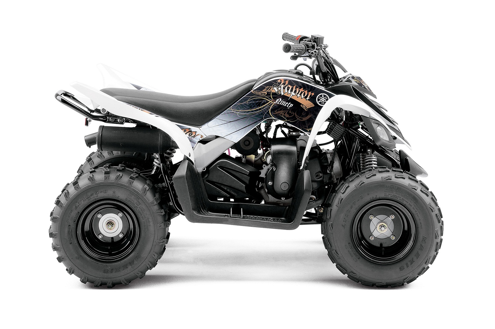 2012 Yamaha Raptor 90 | Top Speed