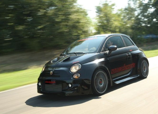 2011 Fiat Abarth 500 Cinquone Stradale By Romeo Ferraris Top Speed