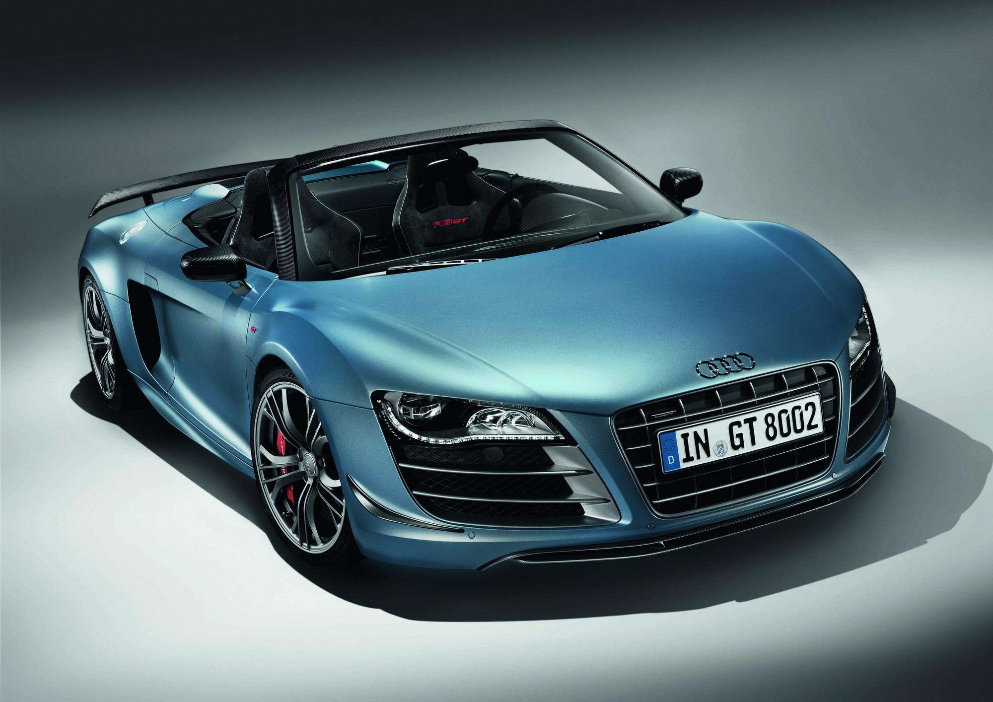 audi r8 gt convertible making its north american debut in la top speed. Black Bedroom Furniture Sets. Home Design Ideas
