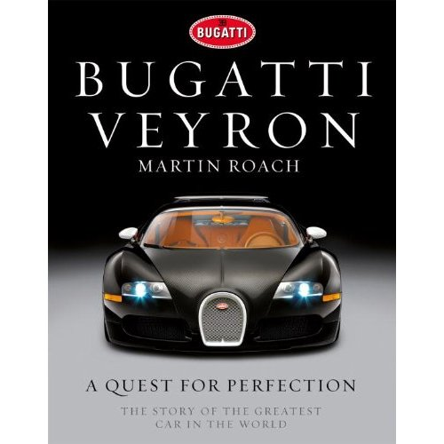 "Bugatti Veyron book talks about the ""story of the greatest car in the world"""