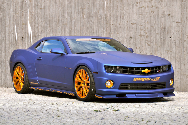 2011 Chevrolet Camaro Ss Blaumatt Gold By Geiger Cars