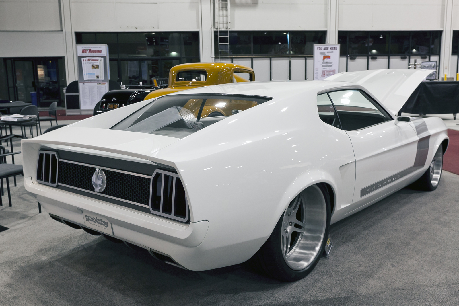1971 Ford Mustang Pegasus By Goolsby Customs Top Speed Coupe
