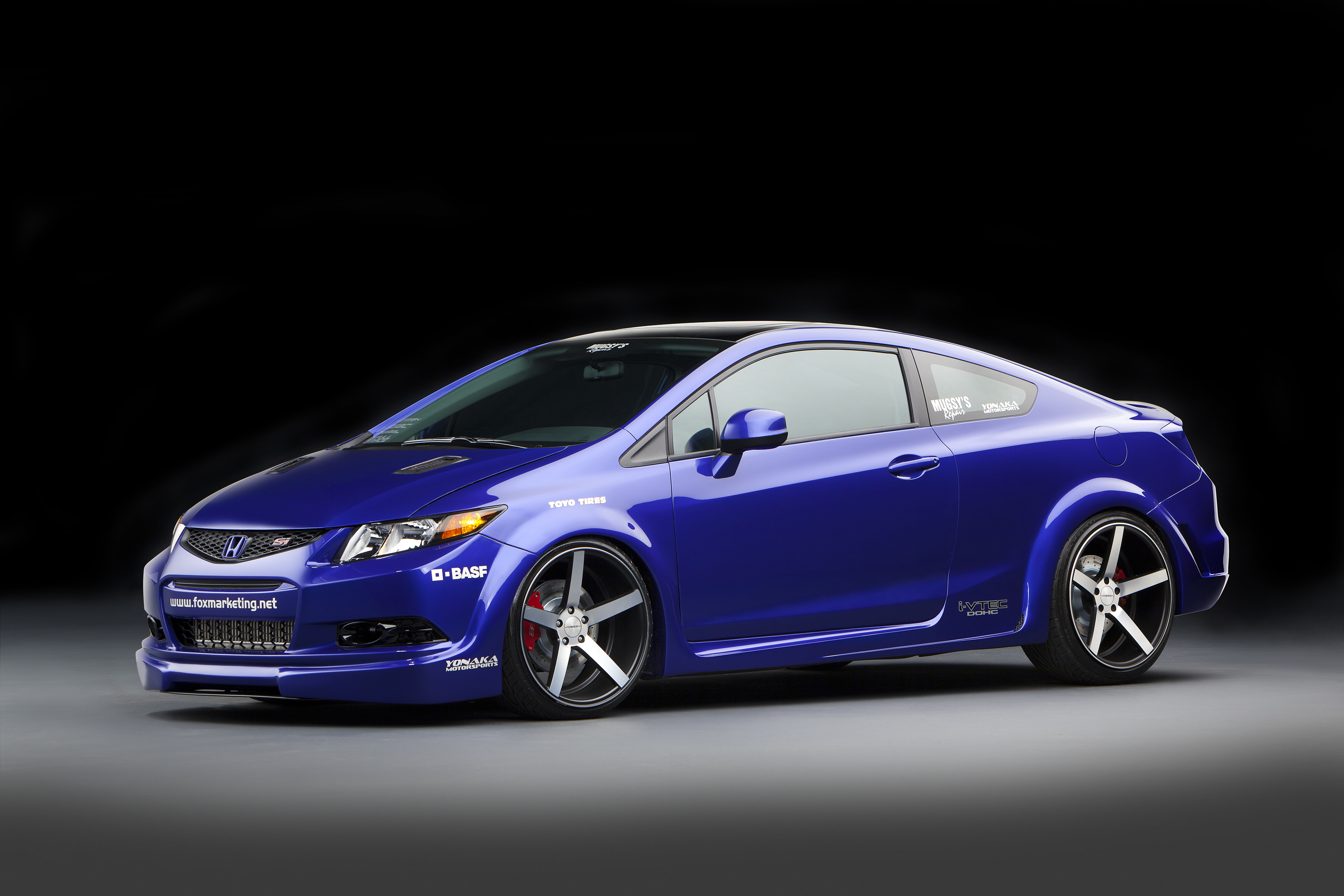 2012 honda civic si coupe by fox marketing review top speed. Black Bedroom Furniture Sets. Home Design Ideas