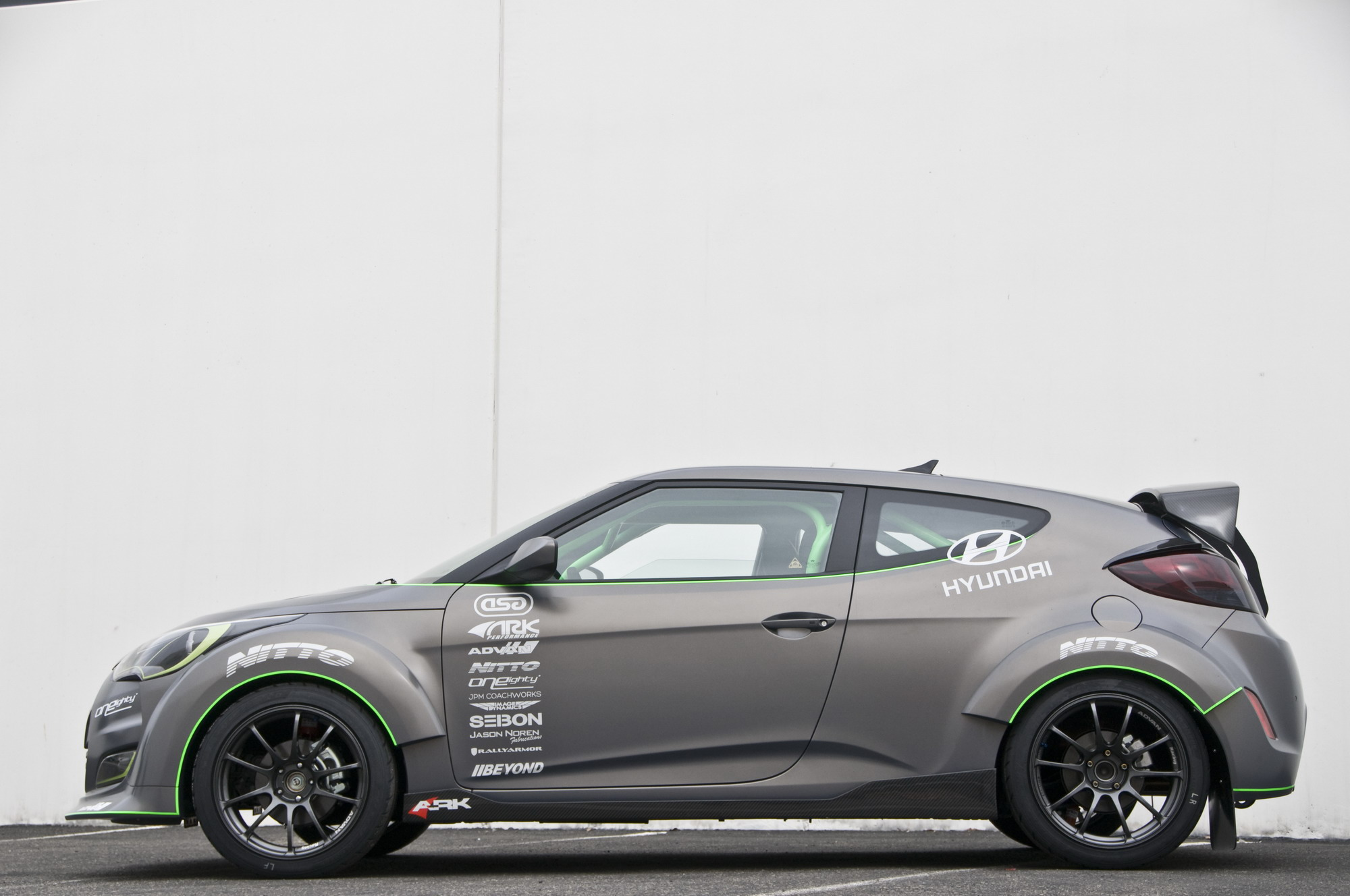 2012 hyundai veloster by ark performance review top speed. Black Bedroom Furniture Sets. Home Design Ideas