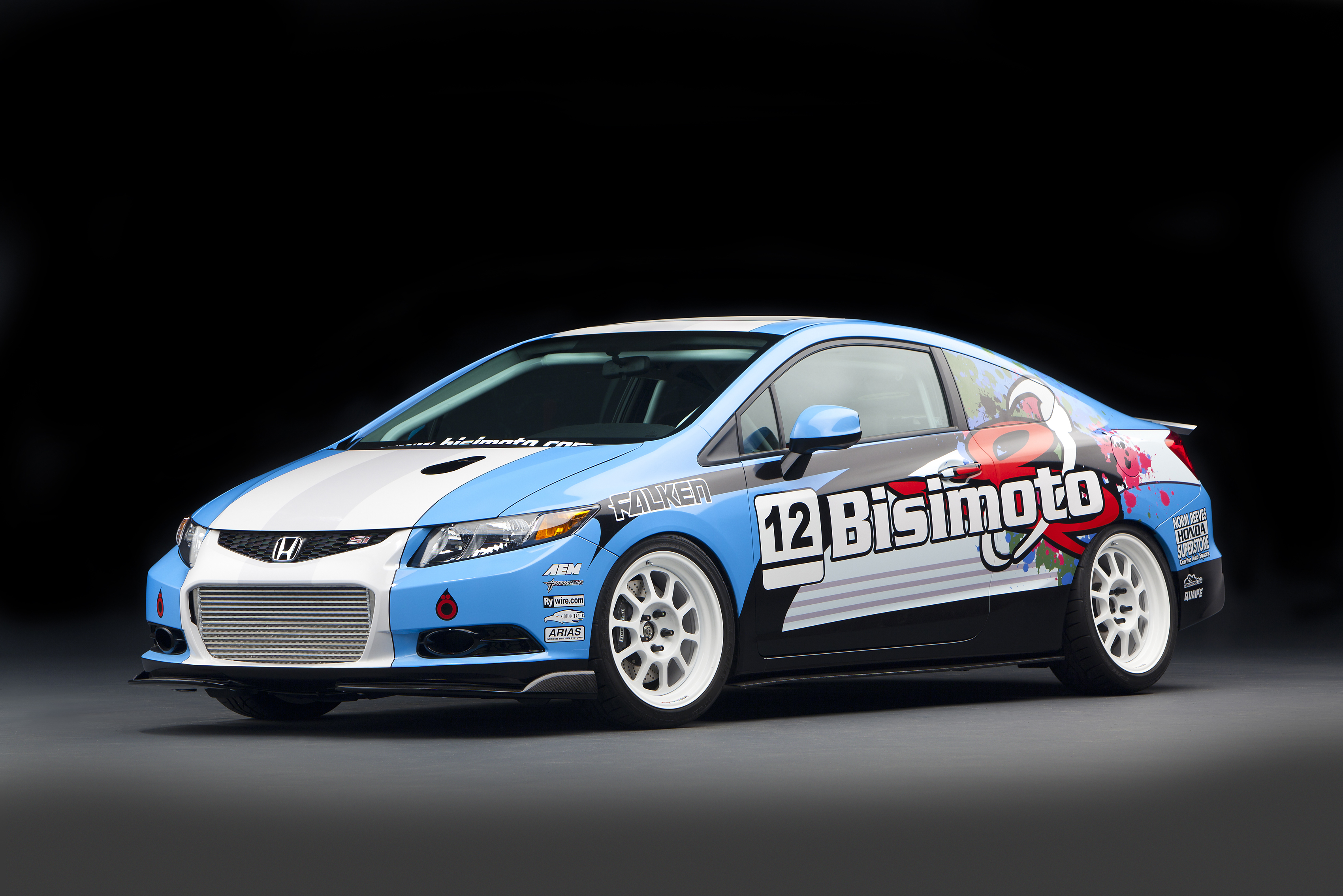 2012 honda civic si by bisimoto engineering top speed. Black Bedroom Furniture Sets. Home Design Ideas