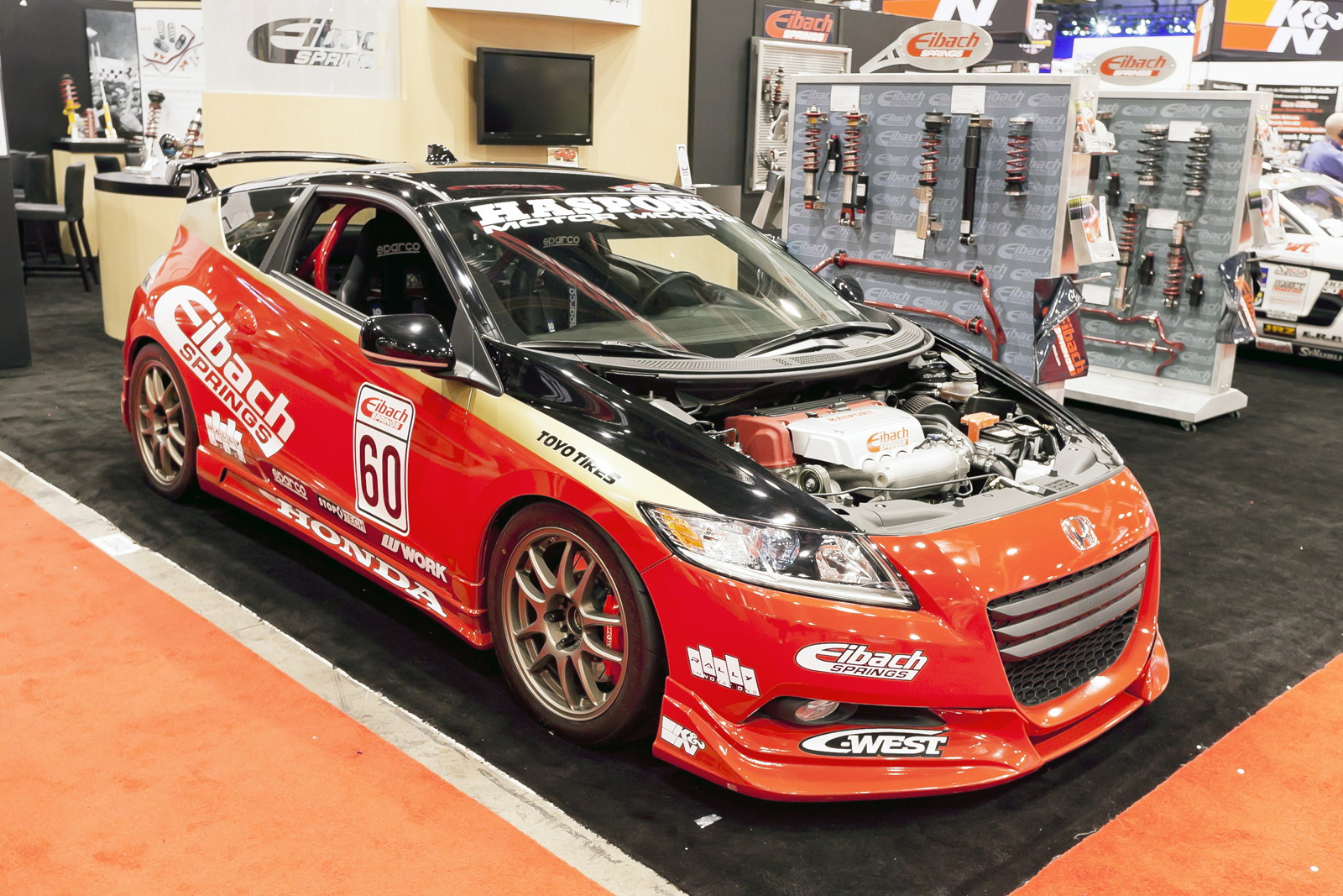 2011 honda cr z by eibach springs review top speed. Black Bedroom Furniture Sets. Home Design Ideas