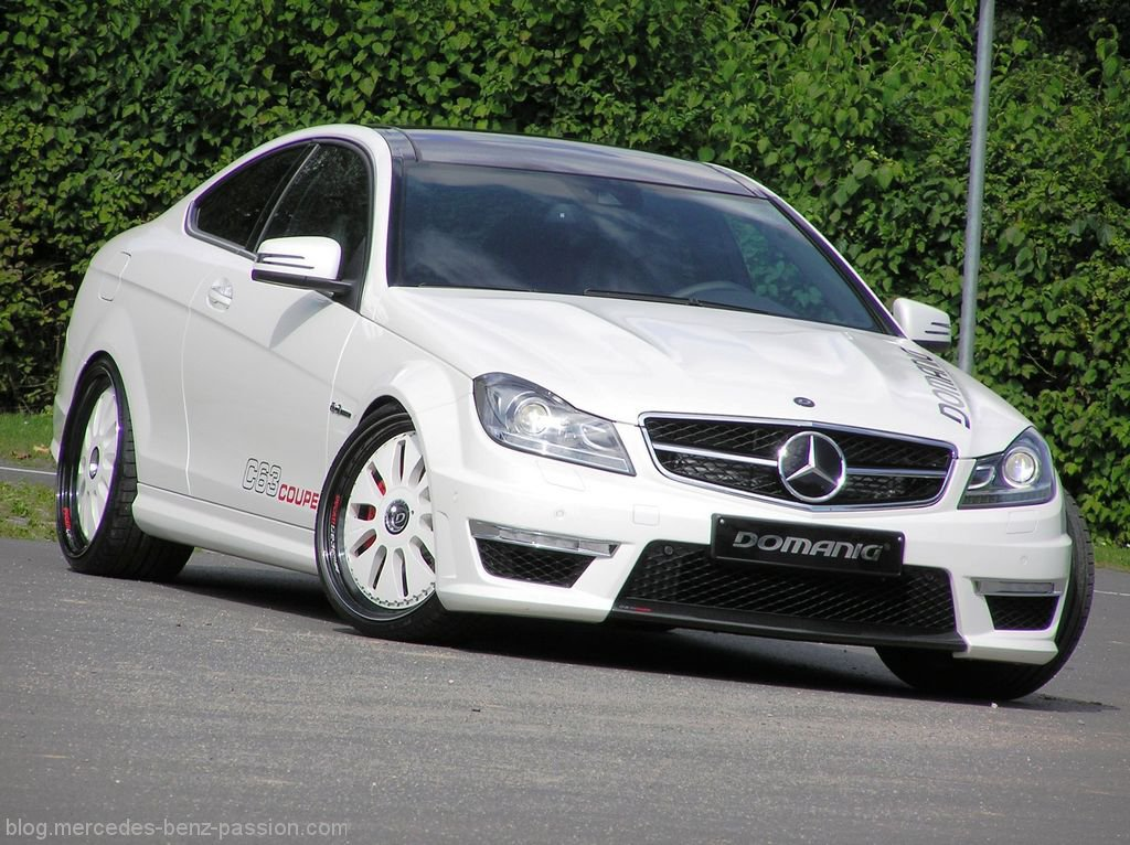 2012 mercedes c63 amg coupe by domanig top speed. Black Bedroom Furniture Sets. Home Design Ideas