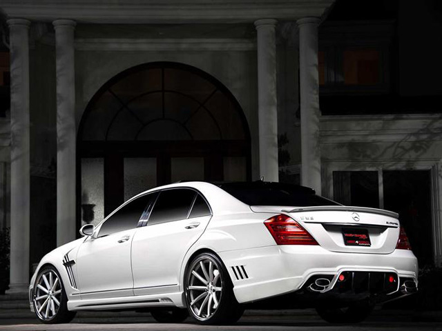 S Class Coupe >> 2012 Mercedes S63 AMG Black Bison By Wald International Gallery 428266 | Top Speed