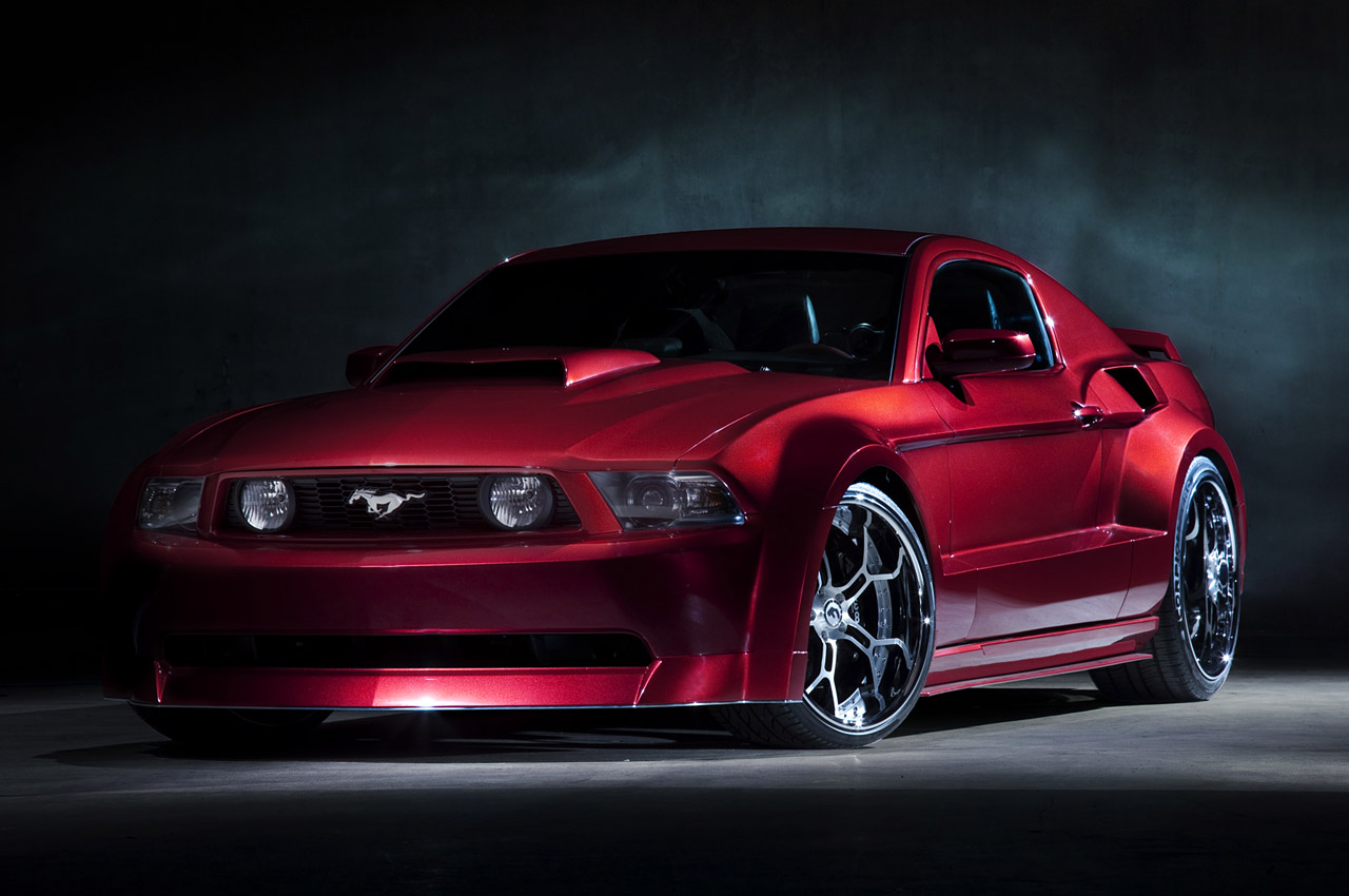 mustang galpin ford boss auto cars sports extreme modified spx sport st gt widebody auction barrett charity jude ready its