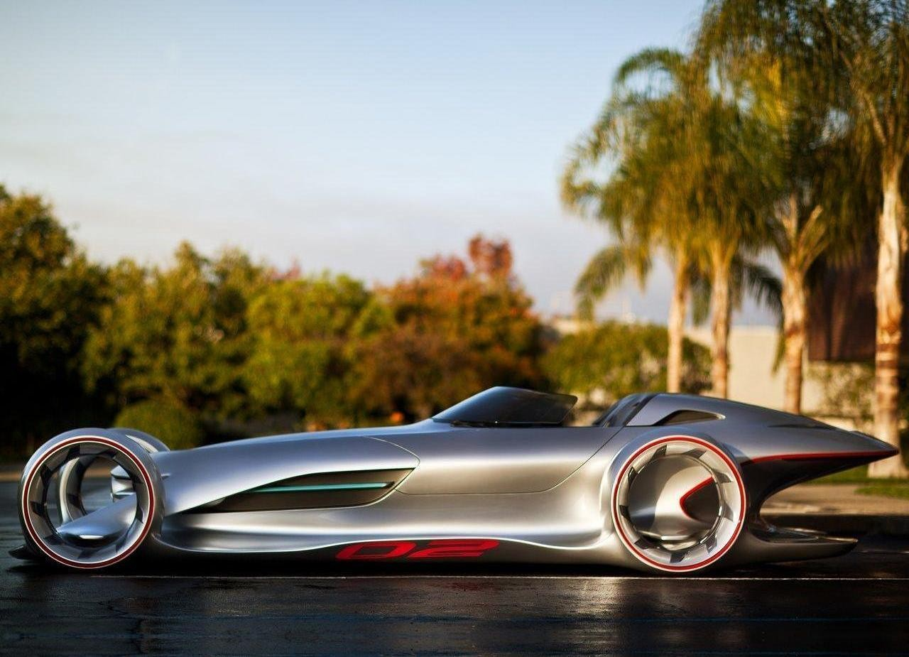 "2011 Mercedes Silver Arrow Concept: ""Silver Lightning ..."
