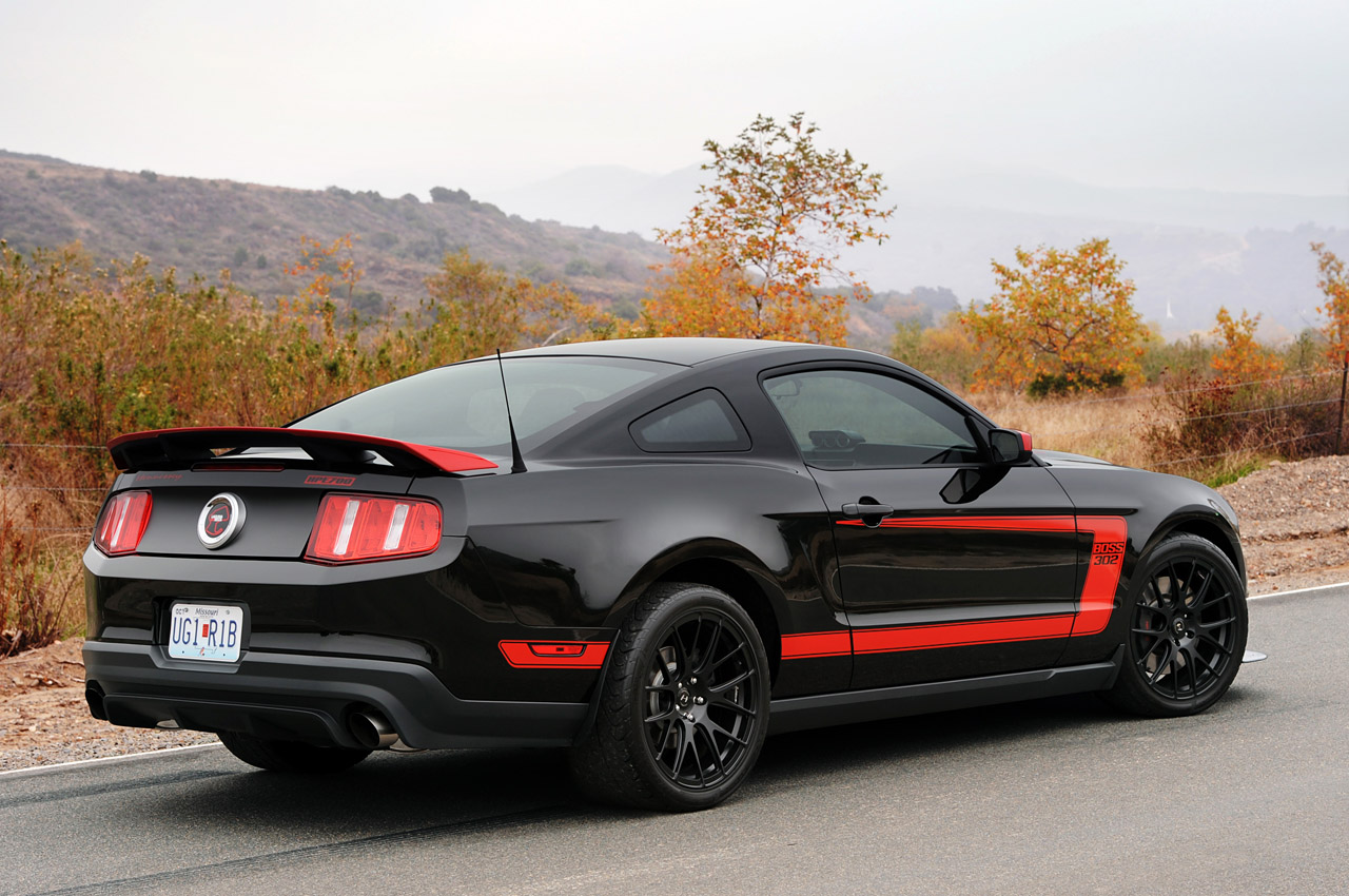 2012 ford mustang boss 302 hpe700 by hennessey