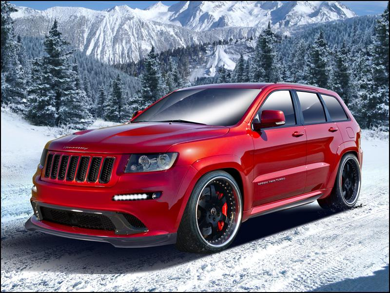 2012 Jeep Grand Cherokee Srt8 By Hennessey Top Speed
