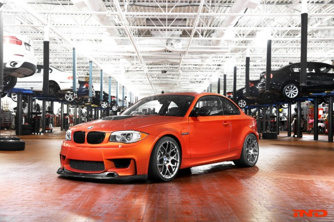2012 Bmw 1 Series M Coupe By Ind Top Speed