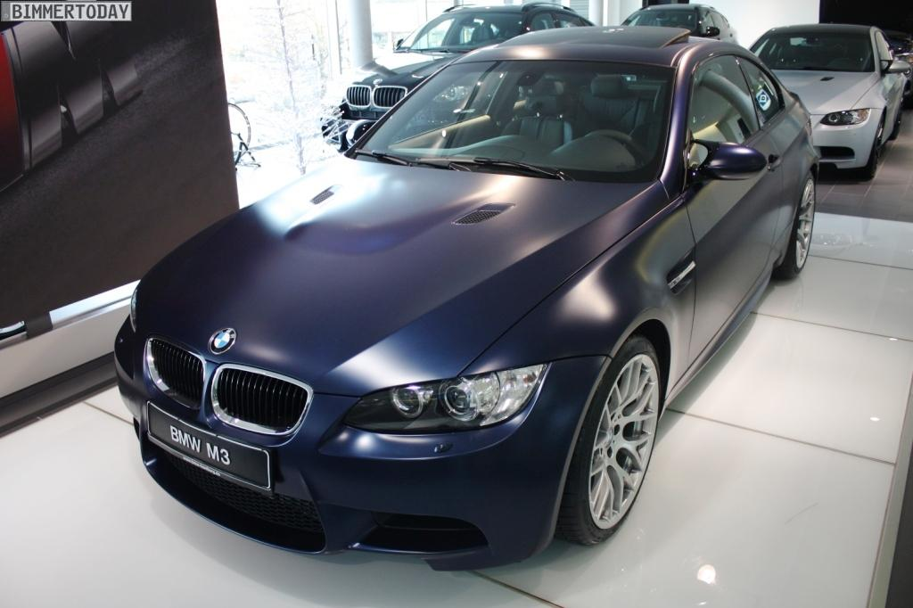 2012 BMW M3 Frozen Dark Blue