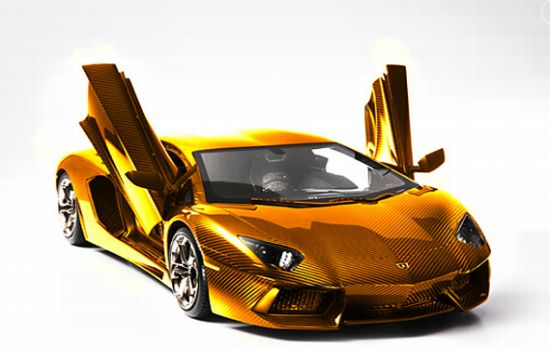 The most expensive Lamborghini in the world is a $4.8 million Aventador scale model (UPDATED)