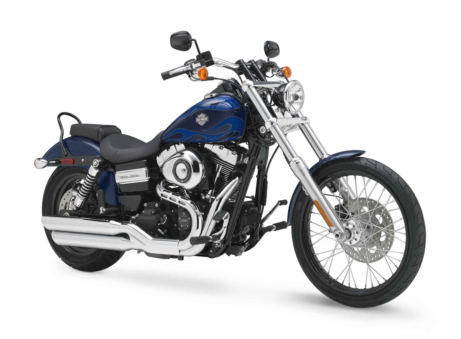 2012 Harley-Davidson Dyna FXDWG Wide Glide | Top Speed