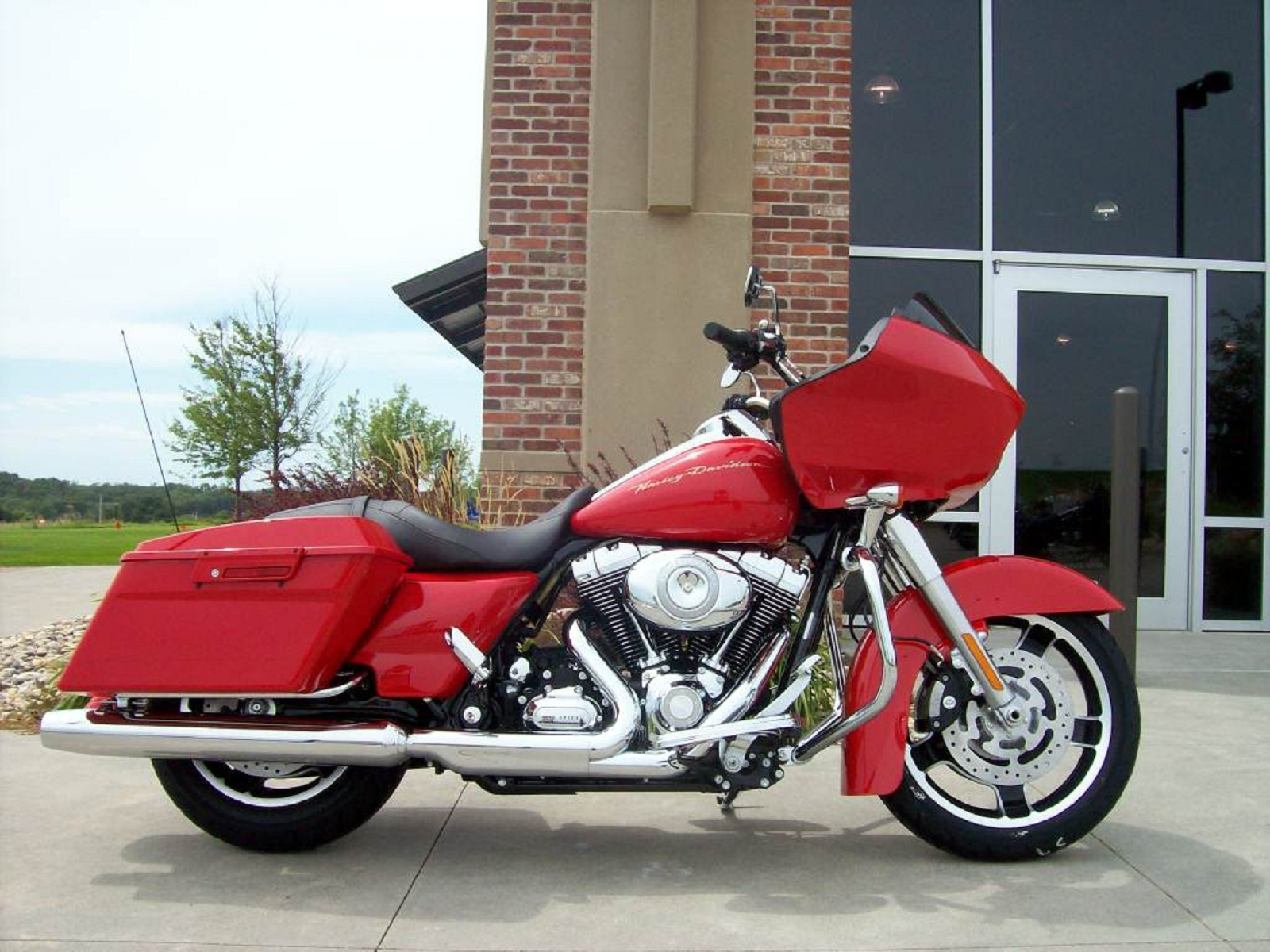 2012 Harley Davidson Touring Fltrx Road Glide Custom Top Speed Red