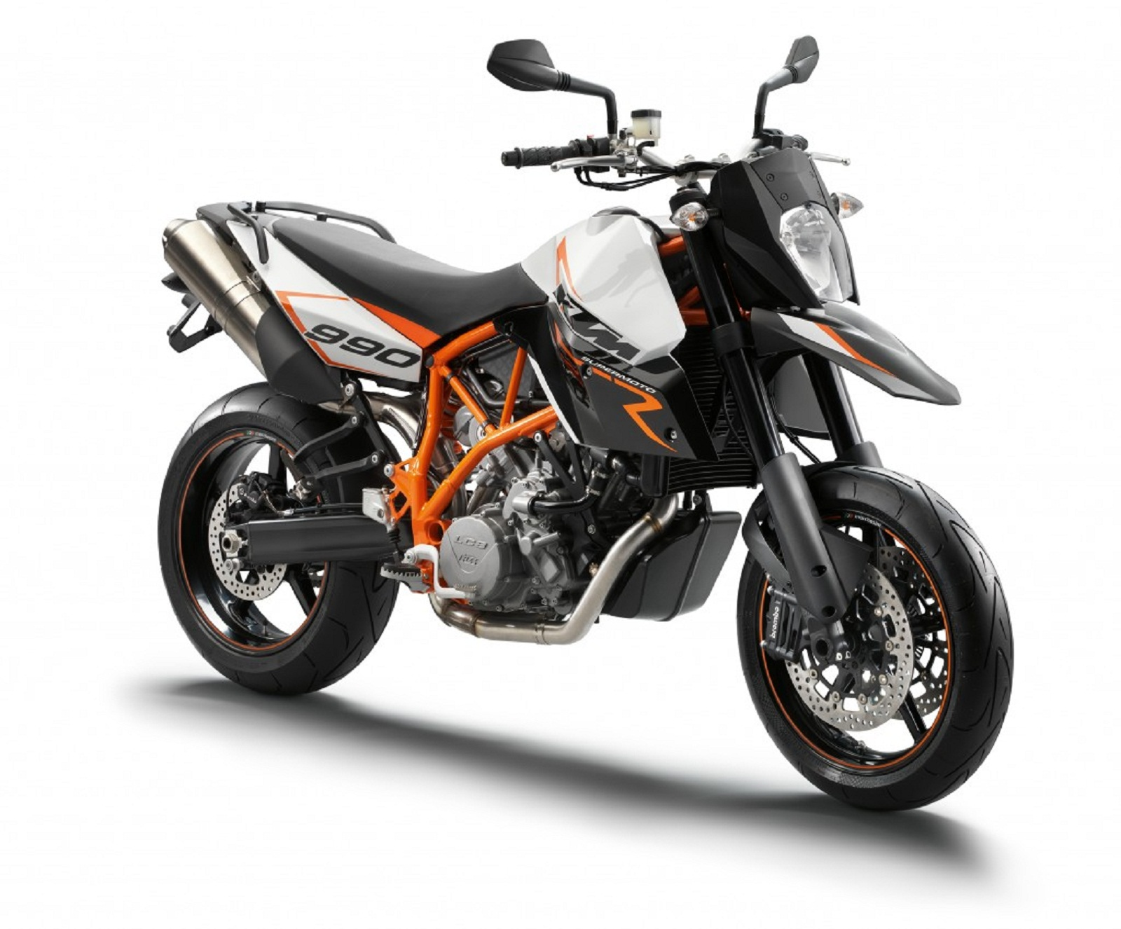 2012 KTM 990 SM R Review - Top Speed