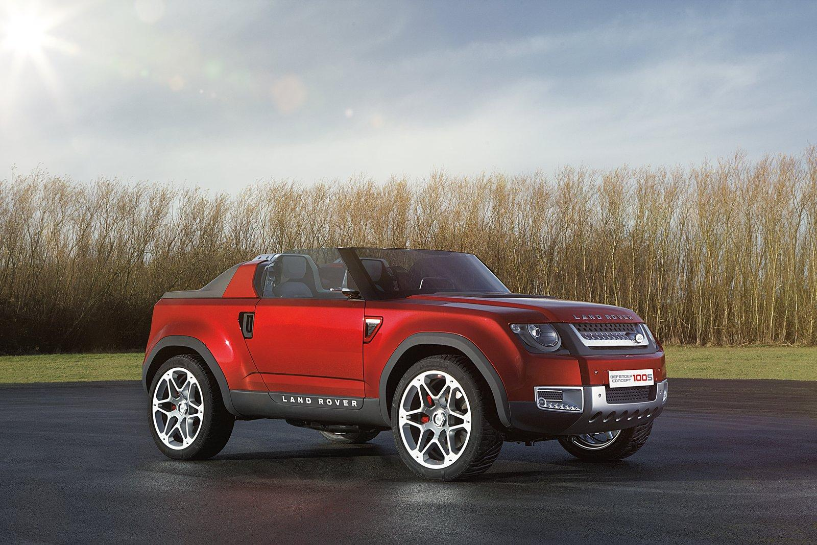 2012 Land Rover DC100 Sport Concept   Top Speed