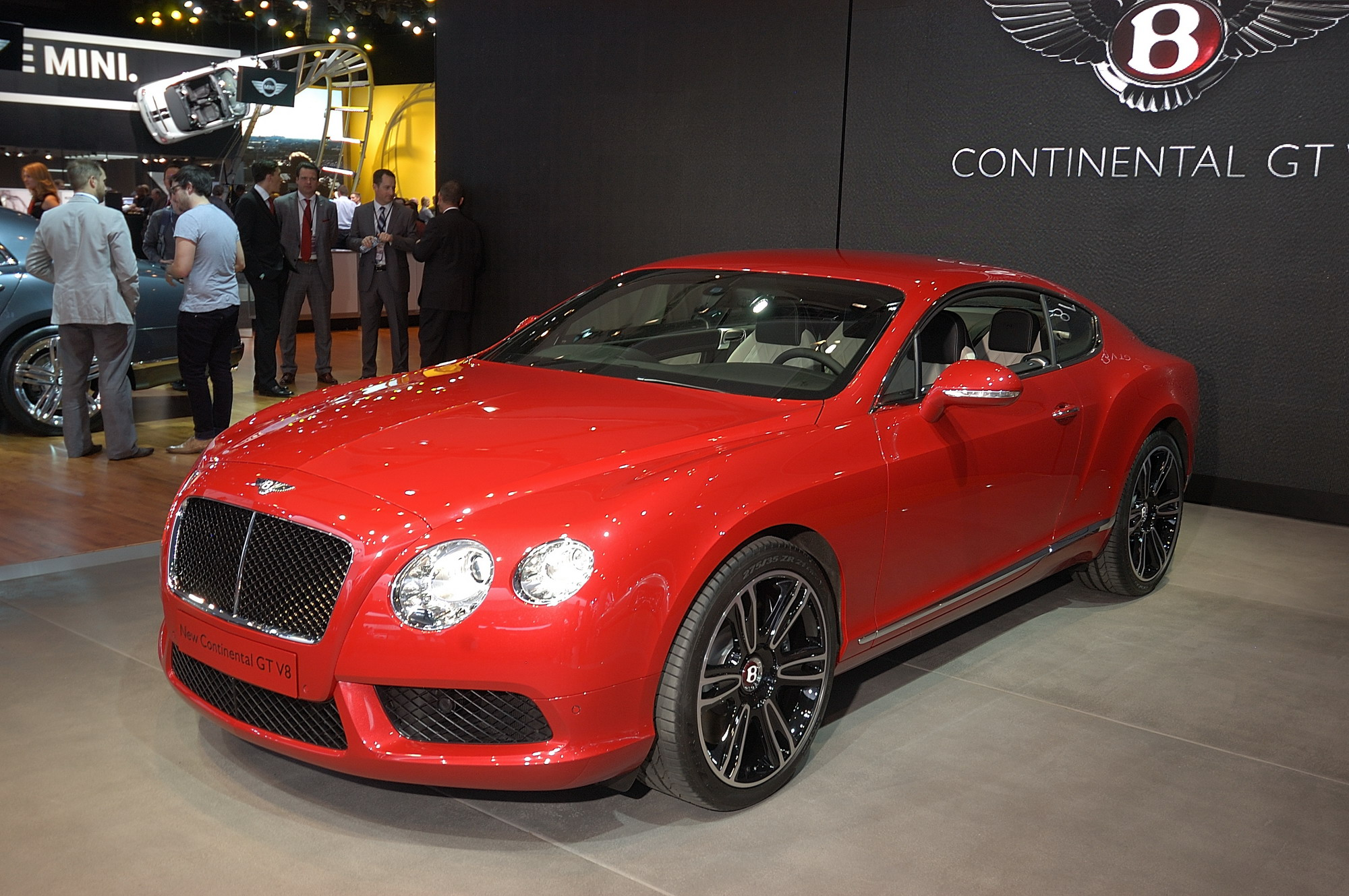 2013 Bentley Continental GT V8 Review - Top Speed