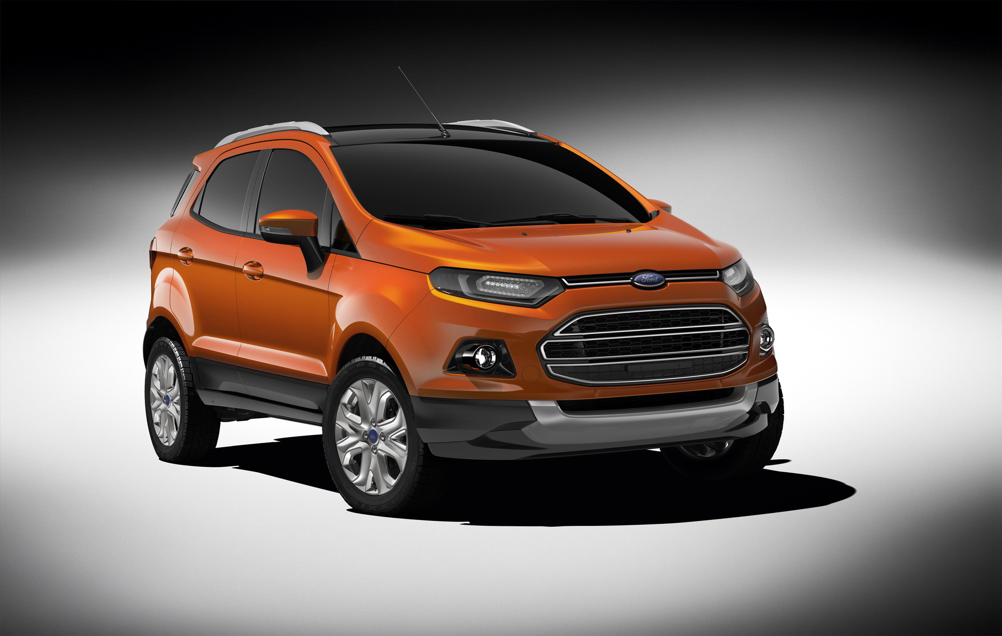 Ford took its opportunity at the 2012 auto expo to announce the globalization of its new ecosport compact suv the second of eight new vehicles that ford