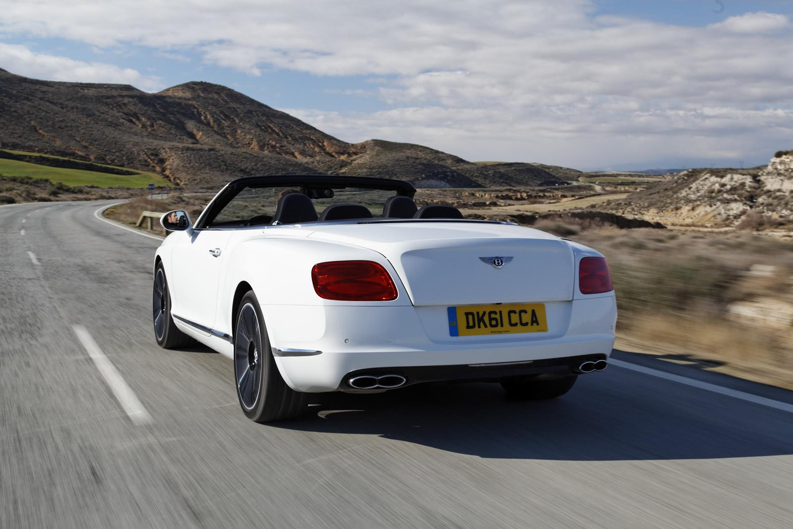 2013 bentley continental gtc v8 review top speed bentley put a hold on developing any new models in order to work on a new 40 liter twin turbocharged v8 engine that we already expected to see in the vanachro Choice Image