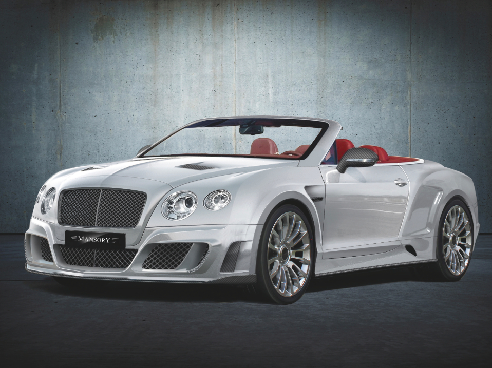 2012 Bentley Continental Gt Convertible Le Mansory Ii By Mansory