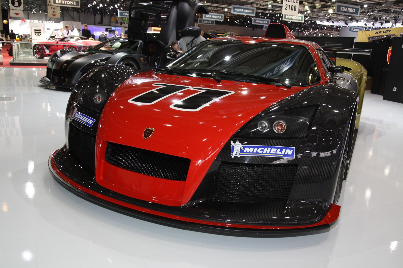 2012 Gumpert Apollo R Top Speed