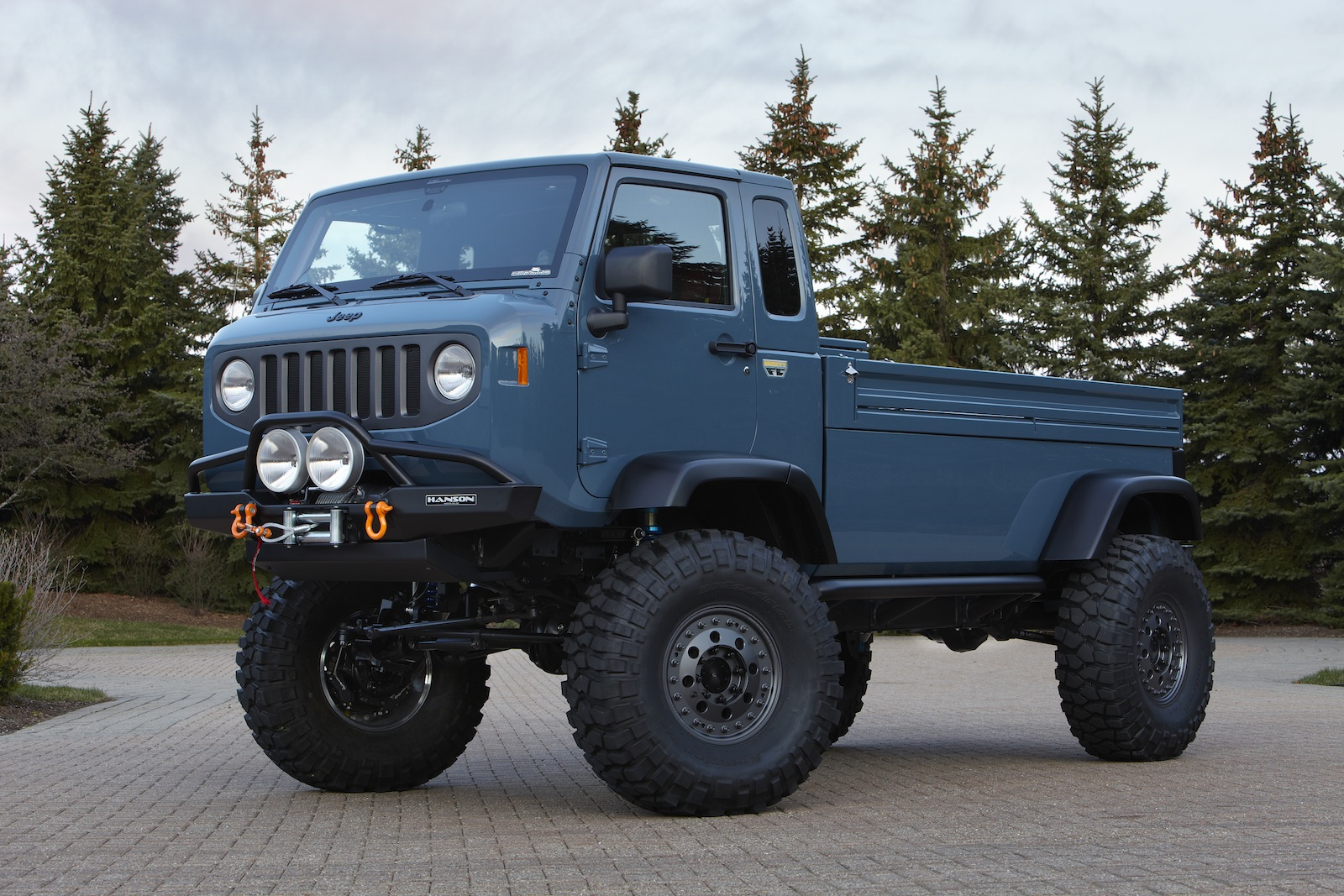 Jeep Mighty Fc Concept For Sale