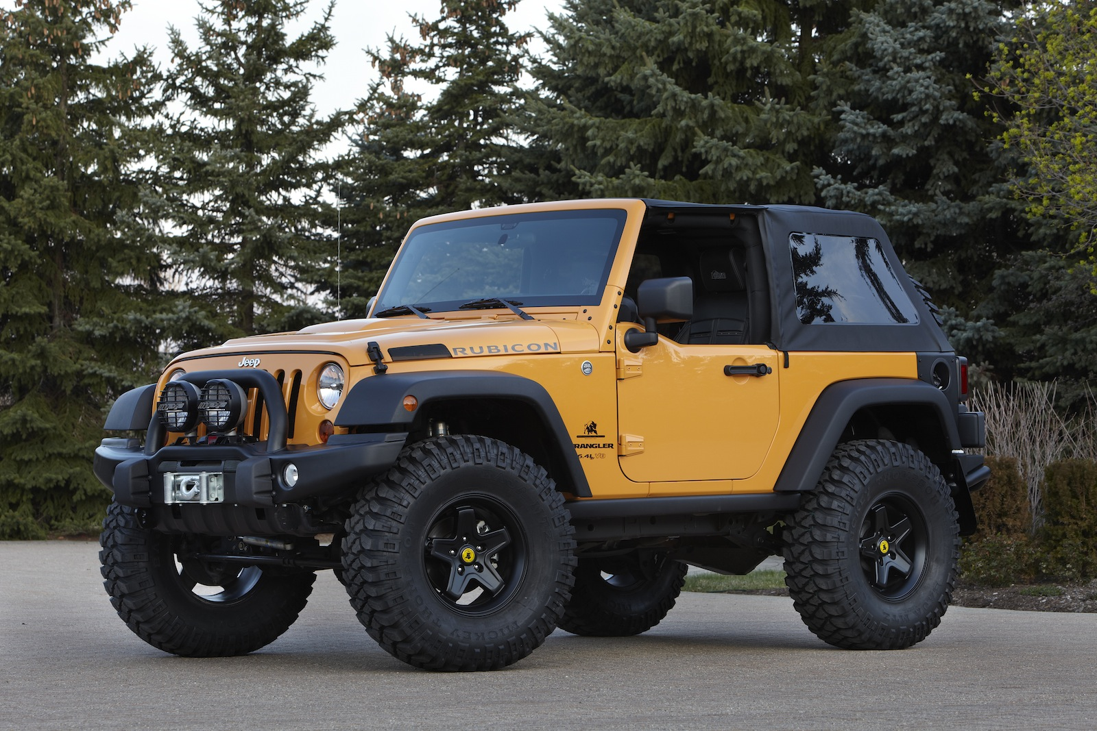 American Expedition Vehicles >> 2012 Jeep Wrangler Traildozer | Top Speed