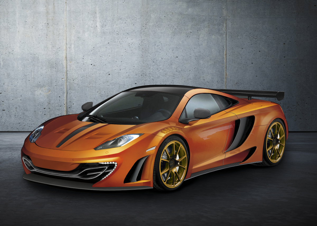 Car Driving Games >> 2012 McLaren MP4-12C By Mansory | Top Speed