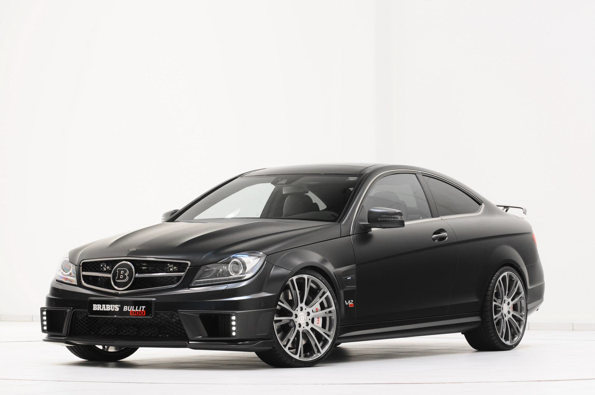 2012 mercedes c class bullit coupe by brabus top speed. Black Bedroom Furniture Sets. Home Design Ideas