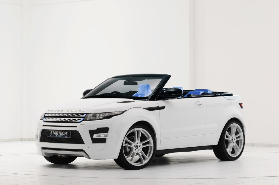 2012 range rover evoque convertible by startech top speed. Black Bedroom Furniture Sets. Home Design Ideas