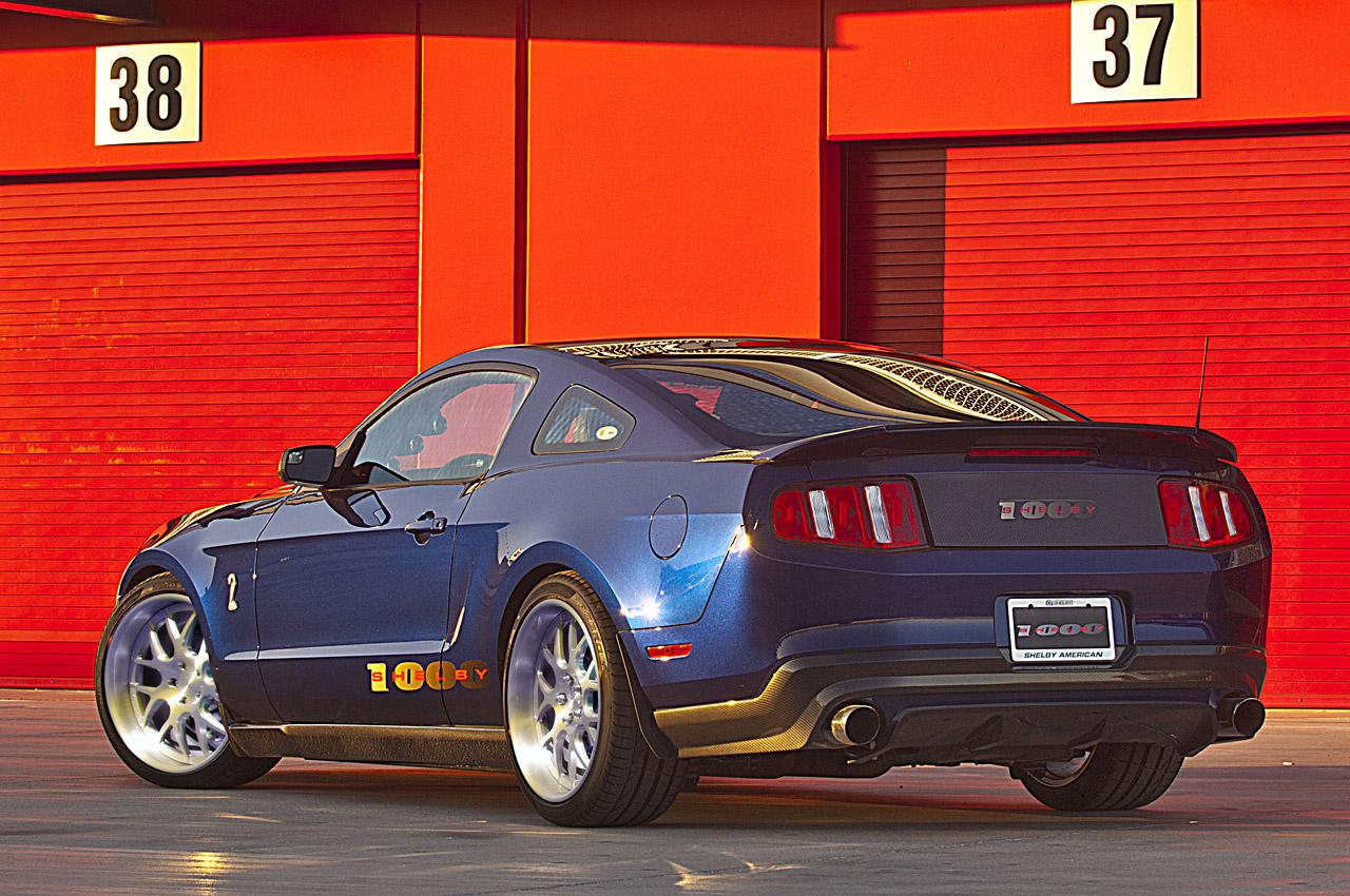 2013 Ford Shelby Mustang 1000 | Top Speed