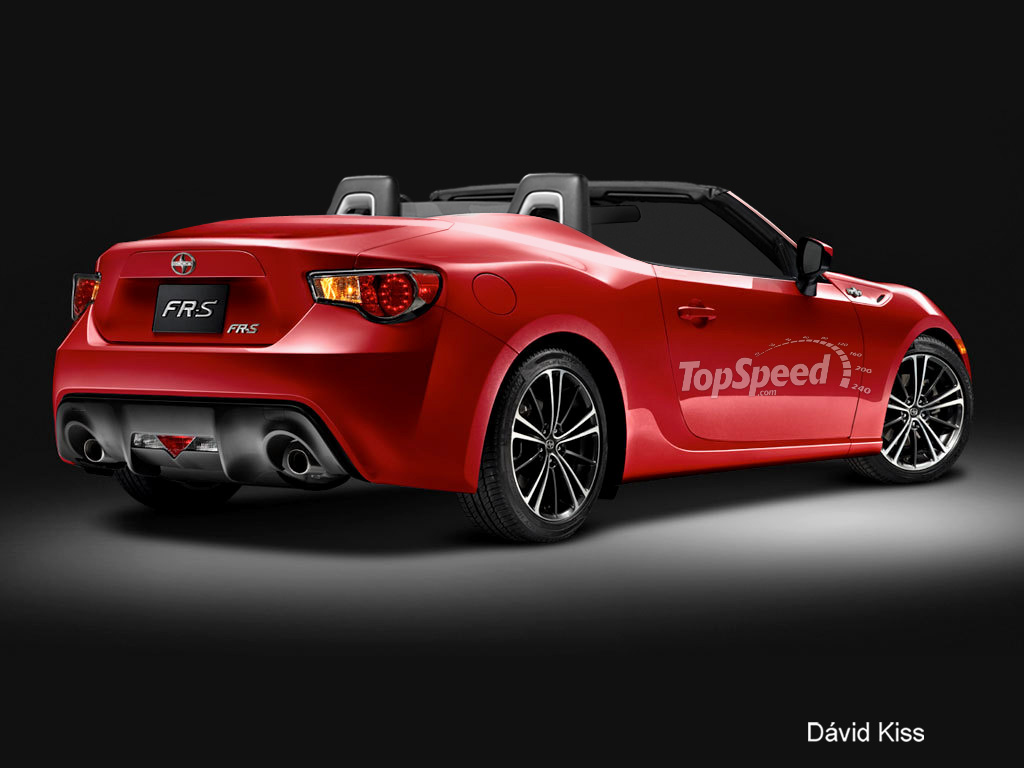 2014 Scion FR-S Convertible | Top Speed