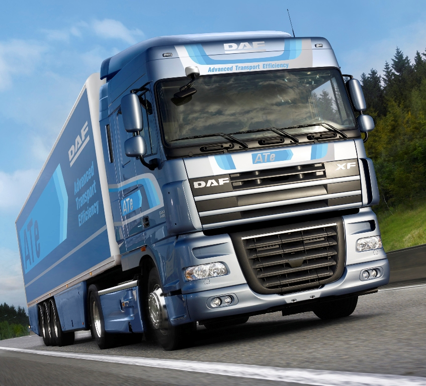 2009 DAF XF105 | Top Speed