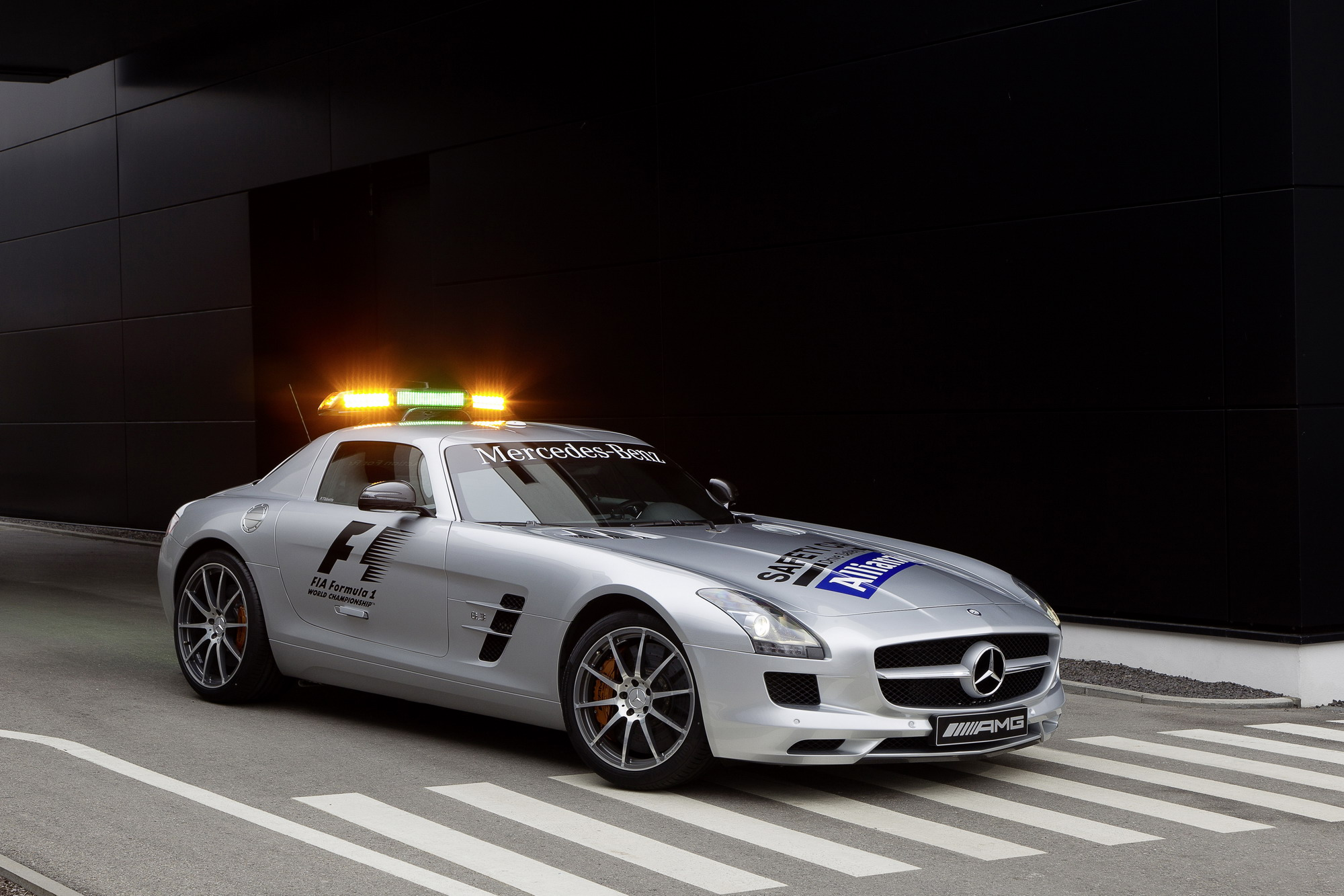 2012 Mercedes Sls Amg Safety Car Top Speed